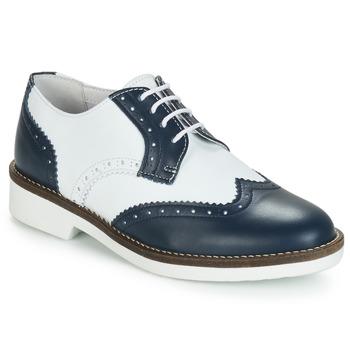 Zapatos Mujer Derbie André CASPER Marino