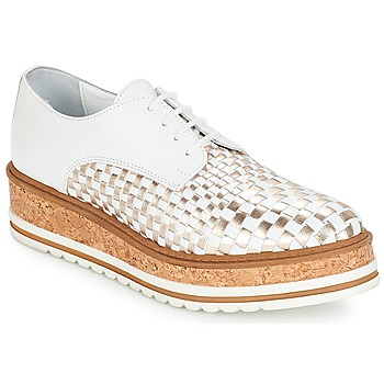 Zapatos Mujer Derbie André CHATAIGNE Blanco