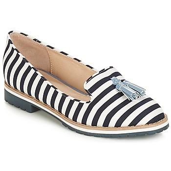 Zapatos Mujer Mocasín André DINAN Blanco