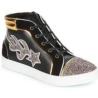 Zapatos Mujer Zapatillas altas André LOTUS Negro