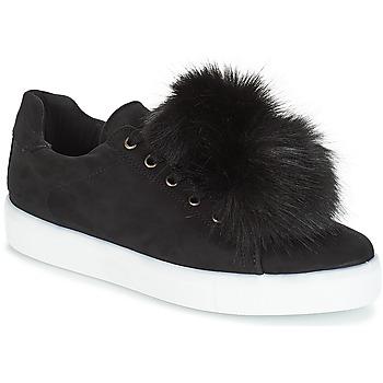 Zapatos Mujer Zapatillas bajas André POMPON Negro