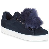 Zapatos Mujer Zapatillas bajas André POMPON Azul