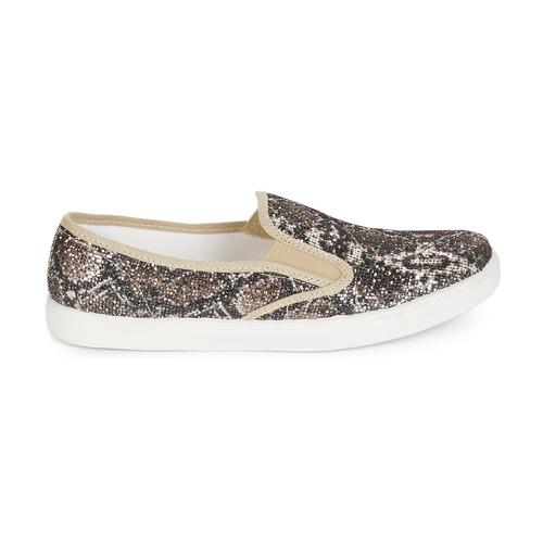 Mujer Sauvage Zapatos André Slip On Beige PikOXZu