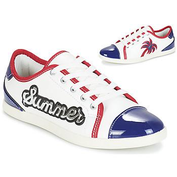 Zapatos Mujer Zapatillas bajas André LIMONADE Blanco