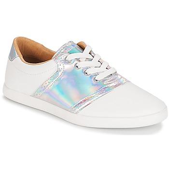 Zapatos Mujer Zapatillas bajas André LIZZIE Blanco