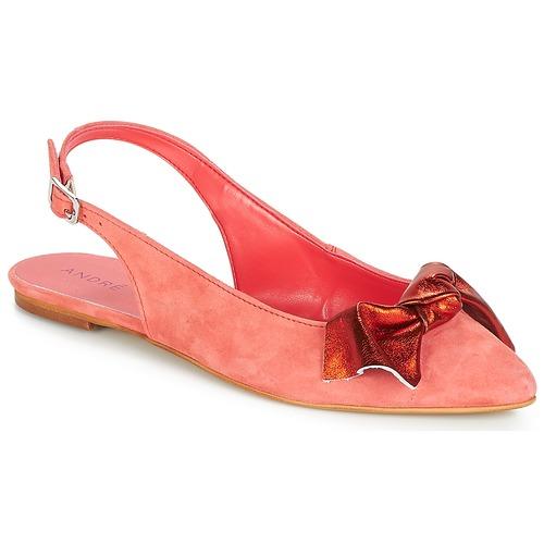 André manoletinas Larabel Mujer Coral Bailarinas Zapatos WE2I9DH