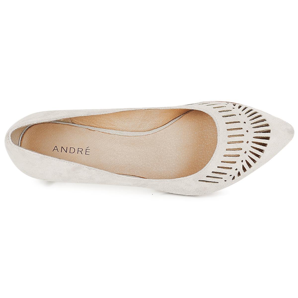 André André André TOURBILLON Gris - Envío gratis Nueva promoción - Zapatos Zapatos de tacón Mujer f2aebc