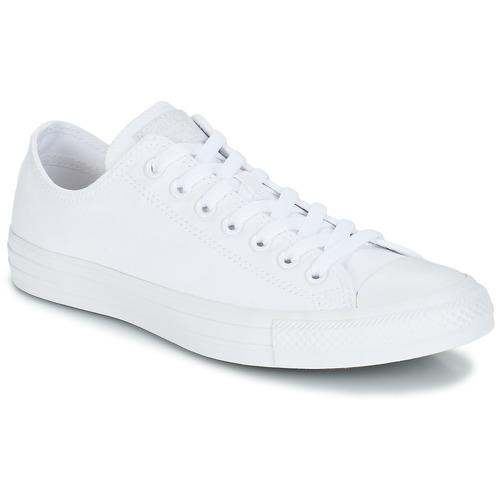 Zapatos especiales para hombres y mujeres Converse ALL STAR CORE OX Blanco