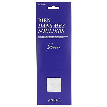 Accesorios Mujer Complementos de zapatos André SEMELLE EPONGE Blanco