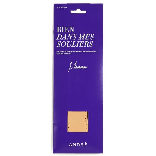 André SEMELLE CUIR Beige - Envío gratis | ! - Accesorios Complementos de zapatos