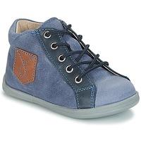 Zapatos Niño Botas de caña baja André POCHE Azul
