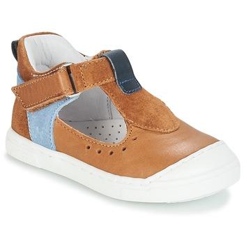 Zapatos Niños Bailarinas-manoletinas André SARBACANE Camel