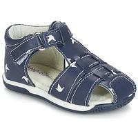 Zapatos Niño Sandalias André ORIGAMI Azul
