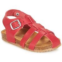 Zapatos Niño Sandalias André AVIRON Rojo