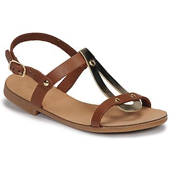 Zapatos Niña Sandalias André TOUFOU E Camel