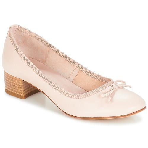 André POETESSE Beige - Envío gratis | ! - Zapatos Bailarinas Mujer