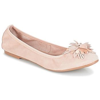 Zapatos Mujer Bailarinas-manoletinas André DAHLIA Nude
