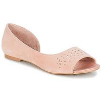 Zapatos Mujer Bailarinas-manoletinas André HELIA Rosa