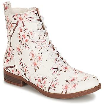 Zapatos Mujer Botas de caña baja André PILAT Blanco