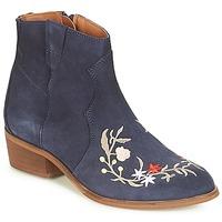 Zapatos Mujer Botas de caña baja André WEST Marino