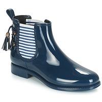 Zapatos Mujer Botas de agua André BLEUENN Marino