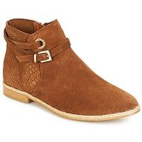 Zapatos Mujer Botas de caña baja André IDAHO Camel