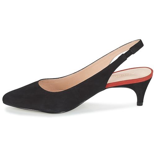 De André Zapatos Tacón Mujer Negro Tapane rWQeCBoxd