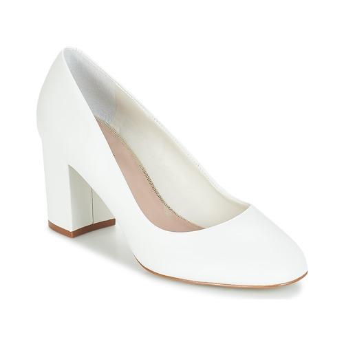 André PENSIVE Blanco - Envío gratis | ! - Zapatos Zapatos de tacón Mujer