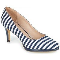 Zapatos Mujer Zapatos de tacón André CRYSTAL Rayas / Azul