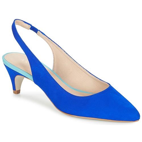 Tapane Mujer De Azul Zapatos Tacón André 1JTKlFc