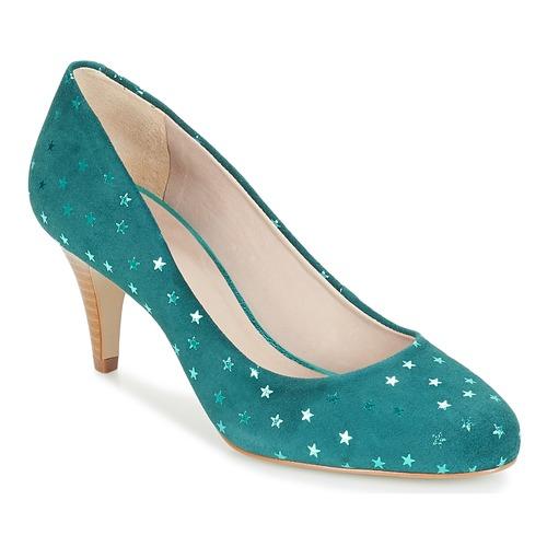 André BETSY Turquesa - Envío gratis | ! - Zapatos Zapatos de tacón Mujer