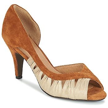 Zapatos Mujer Zapatos de tacón André PUNGI Camel