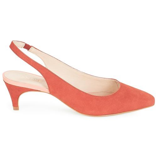 Rojo De Zapatos Tacón André Zapatos v8O0Nmwny