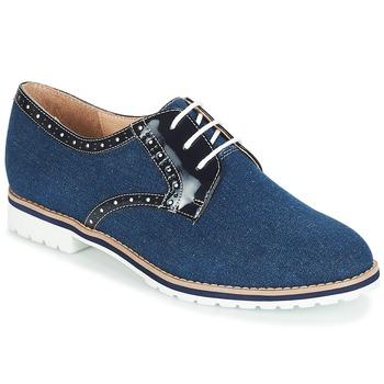 Zapatos Mujer Derbie André DERIVEUR Marino