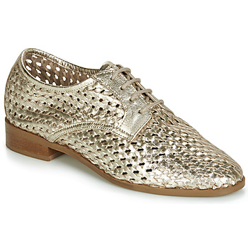 Zapatos Mujer Derbie André TRANSAT Dorado