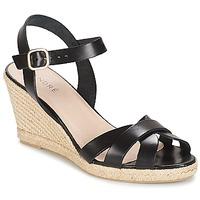 Zapatos Mujer Sandalias André QUIBERON Negro
