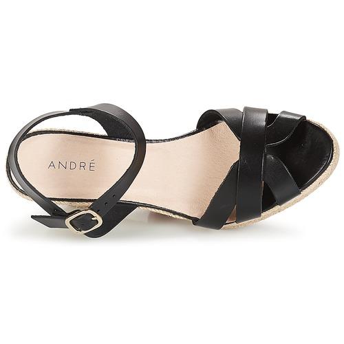 Alpargatas André Mujer Quiberon Zapatos Negro pqSUzGVM