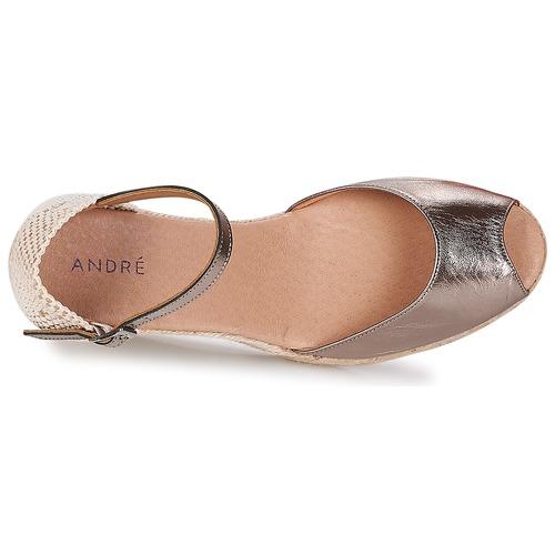 Mujer André Zapatos Dorado Alpargatas Cadix H2WeYED9I
