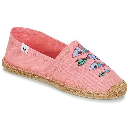 André POISSON VOLANT Rosa - Envío gratis | ! - Zapatos Alpargatas Mujer
