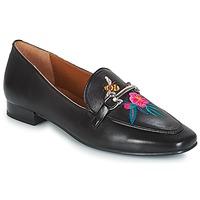Zapatos Mujer Mocasín André HENSON Negro