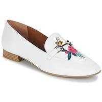 Zapatos Mujer Mocasín André HENSON Blanco