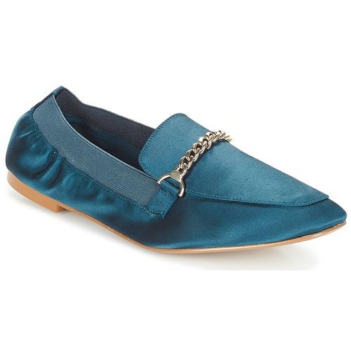 Zapatos Mujer Mocasín André AMULETTE Azul