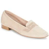 Zapatos Mujer Mocasín André NAMOURS Beige