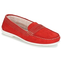 Zapatos Mujer Mocasín André FRIOULA Rojo