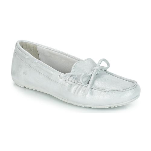 Zapatos Mujer Mocasín André FRIDA Plateado