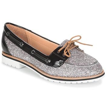 Zapatos Mujer Mocasín André JAY Plateado