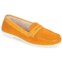 Zapatos Mujer Mocasín André FRIOULA Amarillo