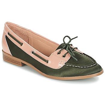 Zapatos Mujer Mocasín André NONETTE Kaki
