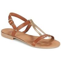 Zapatos Mujer Sandalias André TOUFOU Camel