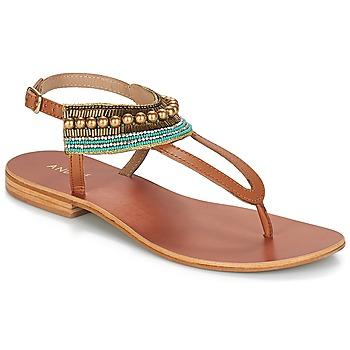Zapatos Mujer Sandalias André MAYOTTE Marrón